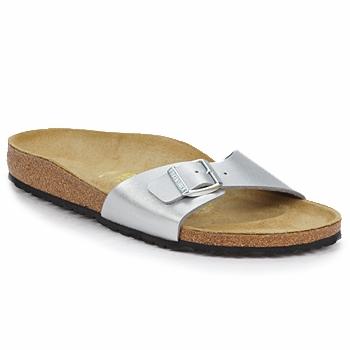 Chaussures Femme Mules Birkenstock MADRID Argent