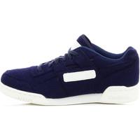 Chaussures Homme Baskets basses Reebok Sport Workout Plus - Ref. V62791 Bleu