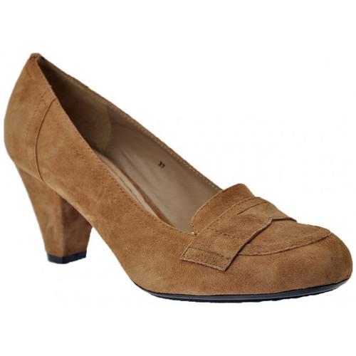 Chaussures Femme Mocassins Otto E Dieci Talon 70 Mocassins Gris