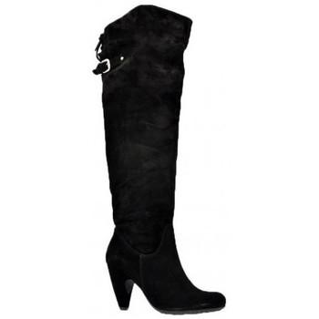 Chaussures Femme Bottes ville Sixt Talon60Bottes Noir