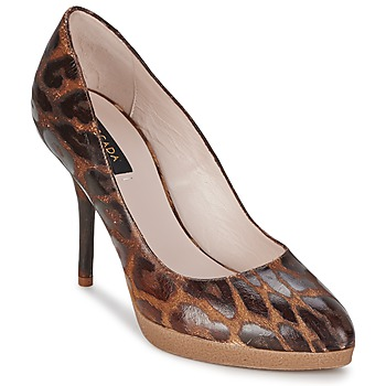 Chaussures Femme Escarpins Escada AS701 Marron / Leopard