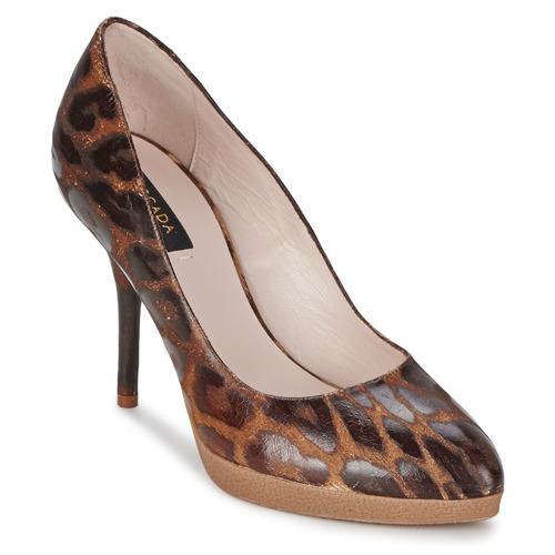 Chaussures Femme Escarpins Escada AS701 Marron / Leopard