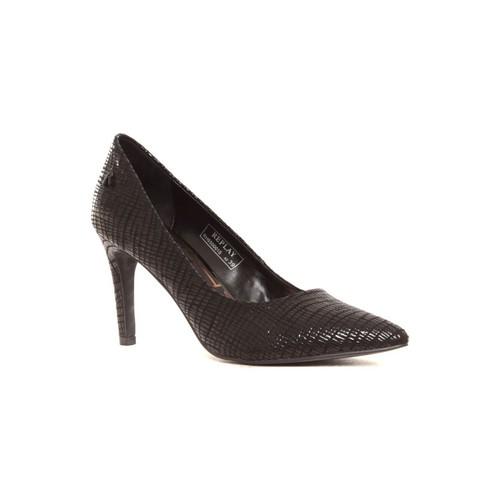 Replay Escarpins Seine RH650001S noir Noir - Chaussures Escarpins Femme