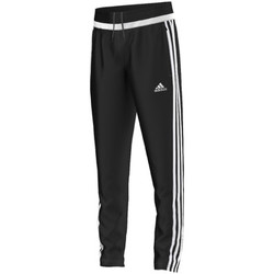Vêtements Garçon Pantalons de survêtement adidas Performance tiro15 Training Pant Jr BLACK / WHITE / BLACK