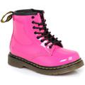 Dr Martens Nourrissons Brooklee Hot Pink Bottes