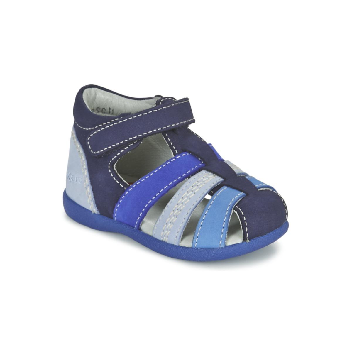 Sandale Kickers BABYSUN Marine Bleu