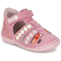 Chaussures Fille Sandales et Nu-pieds Kickers GIFT Rose