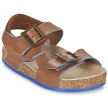 Sandale Kickers NANTI Marron 350x350