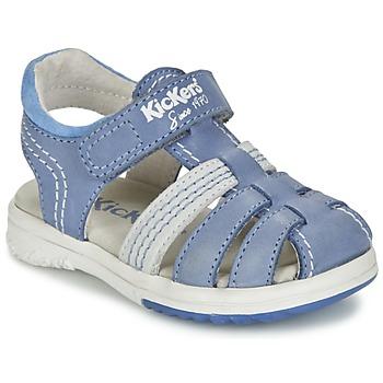 Sandale Kickers PLATINIUM Bleu 350x350