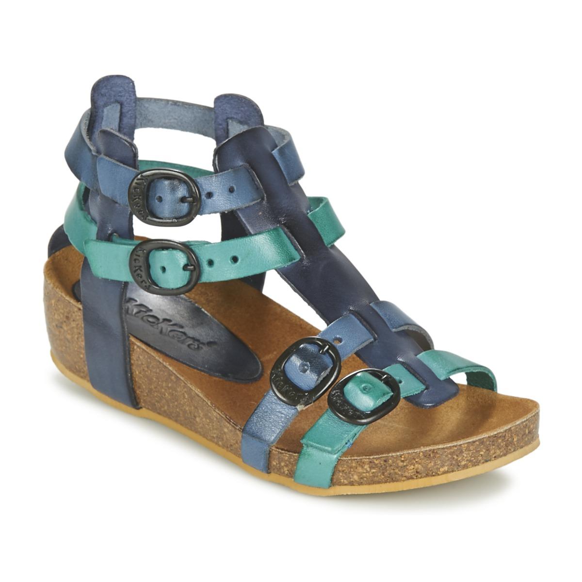 Sandale Kickers BOMDIA Bleu