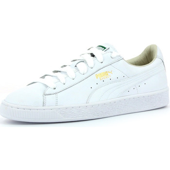 Chaussures Homme Baskets basses Puma Basket Classic LFS White / White