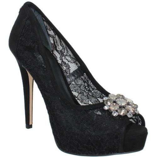 Chaussures Femme Escarpins Guess Escarpin  Hotspot ref_guess38545-black Noir