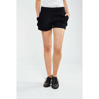 Vêtements Femme Shorts / Bermudas Yaya Short Taille Haute  Anthracite Anthracite