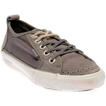 Chaussures Femme Baskets basses People'Swalk Fly suede canvas Gris