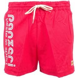 Vêtements Homme Shorts / Bermudas Panzeri Uni a fuschia jersey shor Fuschia