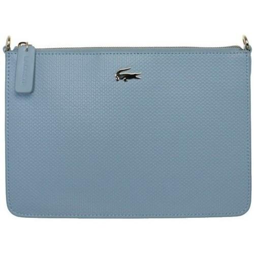 Sacs Femme Sacs Bandoulière Lacoste Sac  Crossover porté travers ref_cem38555-6 Bleu