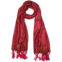 Accessoires textile Homme Echarpes / Etoles / Foulards Léon Montane Pashmina Framboise Bombay Rose