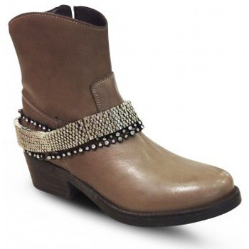 Chaussures Femme Bottines Meline KA4057 Marron