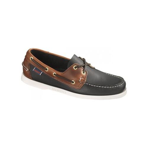 Chaussures Homme Chaussures bateau Sebago Bateau  Spinnaker Leather Noir