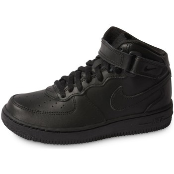 Chaussures Enfant Baskets mode Nike Air Force 1 Mid Enfant Noir