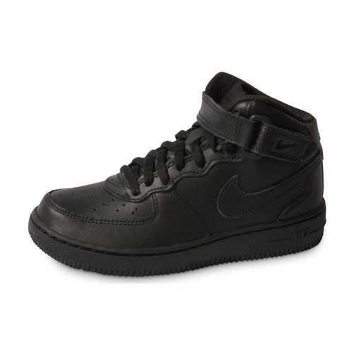 more photos 426e2 ab826 Chaussures Enfant Baskets mode Nike Air Force 1 Mid Enfant Noir