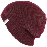 Accessoires textile Bonnets Coal Bonnet Long  Headwear The Binary Bordeaux Rouge