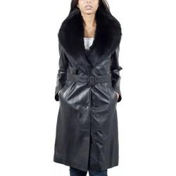 Vêtements Femme Trenchs Giorgio Allure Noir Noir