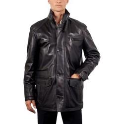 Vestes en cuir / synthétiques Giorgio Bolt Noir