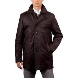 Vêtements Homme Vestes en cuir / synthétiques Giorgio Clooney Marron Marron
