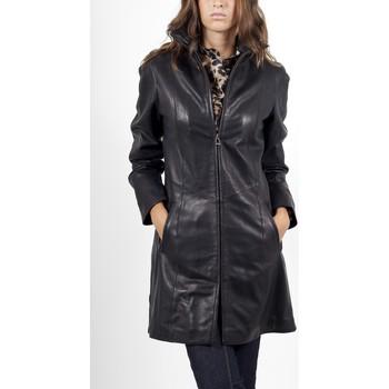 Vêtements Femme Vestes en cuir / synthétiques Giorgio Sabatini Noir Noir