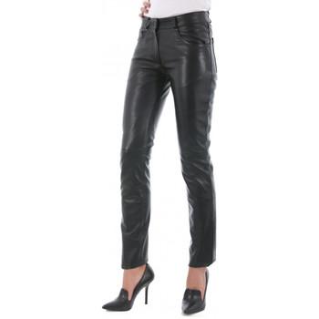 Vêtements Femme Pantalons 5 poches Giorgio 501 F Slim WAXY Noir Noir