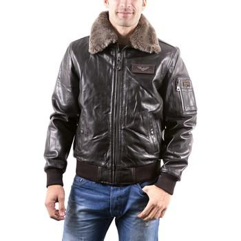 Vêtements Homme Vestes en cuir / synthétiques Redskins Texaco Marron Marron