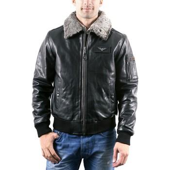 Vêtements Homme Vestes en cuir / synthétiques Redskins Texaco Noir Noir