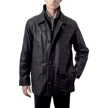 Vêtements Homme Vestes en cuir / synthétiques Arturo Don Noir Noir