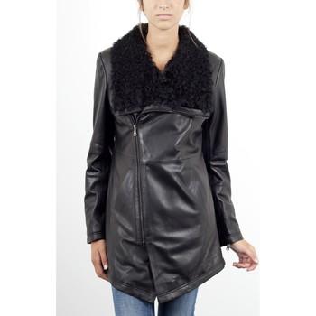 Vêtements Femme Vestes en cuir / synthétiques Giorgio Norma Noir Noir
