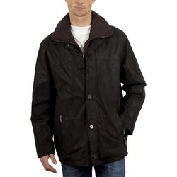 Vêtements Homme Vestes en cuir / synthétiques Arturo Erwann Marron Marron