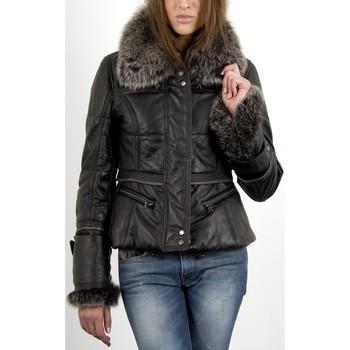 Vêtements Femme Doudounes Giorgio Aubree Noir Noir