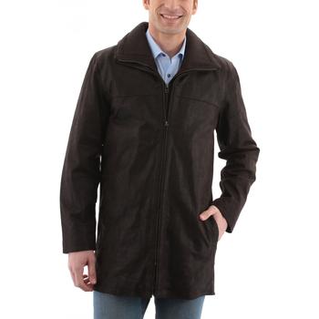 Vêtements Homme Vestes en cuir / synthétiques Arturo ARM601 Porc Marron Marron
