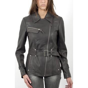 Vestes en cuir / synthétiques Giorgio Karen Gris