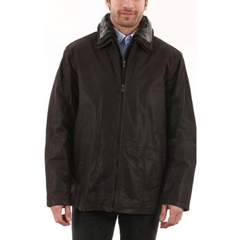 Vêtements Homme Vestes en cuir / synthétiques Arturo LGW0016 Marron Marron