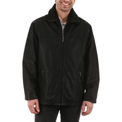 Vêtements Homme Vestes en cuir / synthétiques Arturo LGW0017 Noir Noir