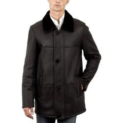 Vêtements Homme Vestes en cuir / synthétiques Intuition AMH 285 Marron Marron