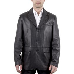 Vêtements Homme Vestes en cuir / synthétiques Milpau AH 2005 Noir Noir
