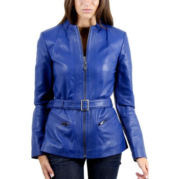 Vêtements Femme Vestes en cuir / synthétiques Mac Douglas Jalyn Bleu Bleu