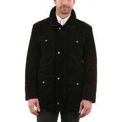 Vêtements Homme Vestes en cuir / synthétiques Arturo Dave Noir Noir