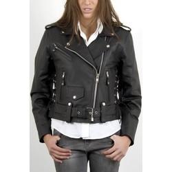 Vêtements Femme Vestes en cuir / synthétiques Last Rebels Hond BL Noir Noir