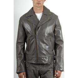 Vêtements Homme Vestes en cuir / synthétiques Mac Douglas Alex Gris Gris
