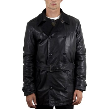 Vêtements Homme Trenchs Mac Douglas London Noir Noir