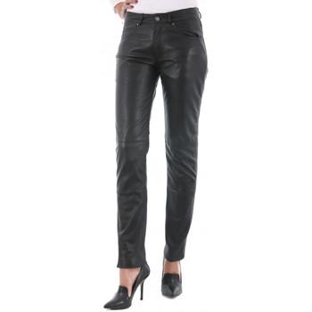 Pantalons 5 poches Giorgio 501 F Slim WODY Noir