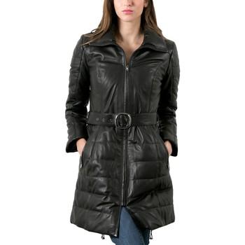 Vêtements Femme Vestes en cuir / synthétiques Giorgio Ginger Noir Noir